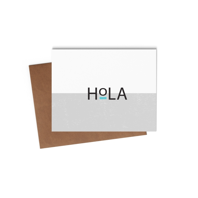 Hola Card Mock Up